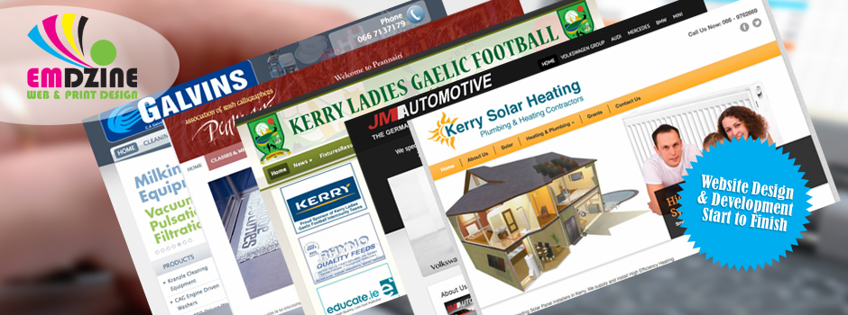 Graphic Design and Website Design in Kerry