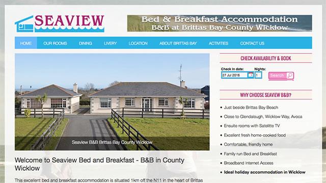 Seaview B&B Website