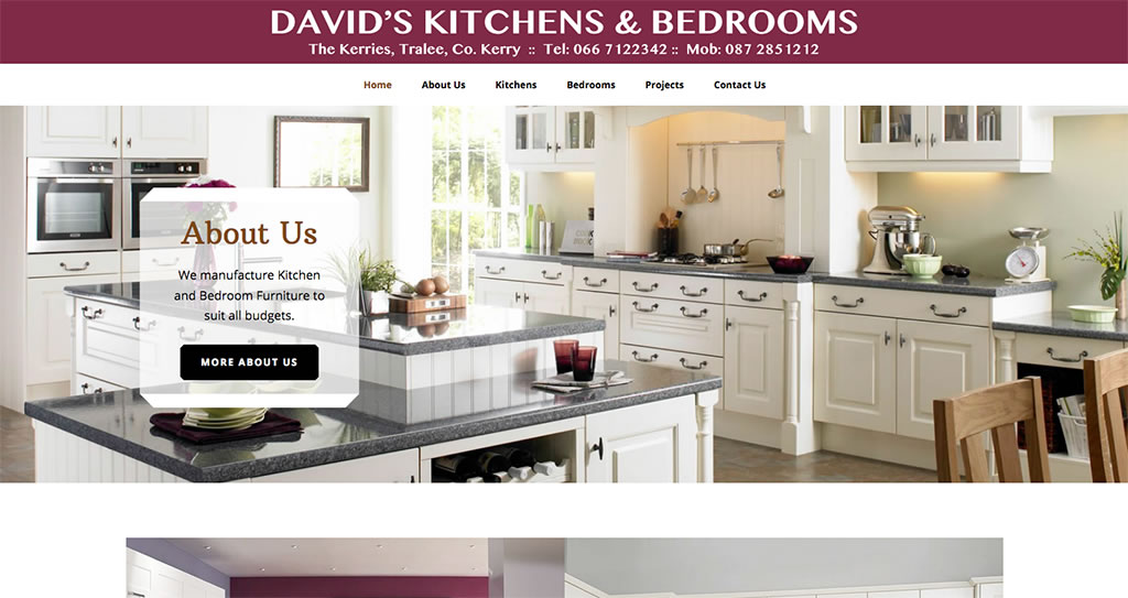 David's Kitchens Website