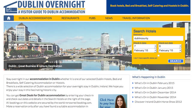 Dublin Overnight Website