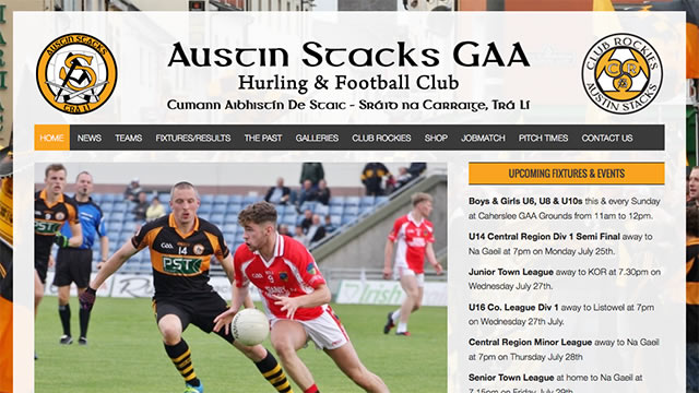 Austin Stacks GAA Website